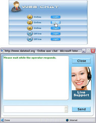 Live Online Chat Software screenshot